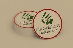 Magyar - olasz étterem számára készített logóterv Art Logo, Graphic Art, Restaurant, Logos, Diner Restaurant, Logo, Restaurants, Dining