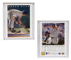 """Kansas City Royals George Brett 8""""x10"""" Upper Deck Blow-Up Card with Acrylic Display"""