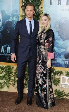 Alexander Skarsgard and Margot Robbie dominated the red carpet at the premiere for The Legend of Tarzan! Get their outfit details!