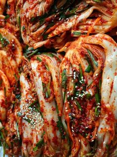 traditional style kimchi recipe that can made into all kinds of Korean side dishes from soups to fried rice.Maangchi's traditional style kimchi recipe that can made into all kinds of Korean side dishes from soups to fried rice. Korean Side Dishes, Maangchi Recipes, K Food, Asian Recipes, Ethnic Recipes, Asian Cooking, Fermented Foods, Fermented Cabbage, International Recipes
