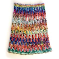 Ravelry: Impressionism Cowl pattern by Xandy Peters | Stacked increases & decreases, self-striping yarn e.g. Noro Kibou