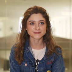 (Natalia Dyer) Hello, my name is Amelia, and I'm 17 years old, however, I finished my senior year last year. I'm a book-smart girl who's been living here on the south side for a little while, and I kind of get along with most people. However, I get easily flustered.