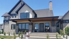 Emerald Homes, The Josephine, was another parade home that featured our stone and fireplace products on both the interior and exterior. And we think this modern meets transitional style home was...