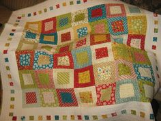 quilt made by me as a wedding gift fabric is Merry and Bright by Sandy Gervais (OOP)