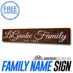 Custom Sign. Makarios Decor custom signs are beautifully hand-crafted from reclaimed wood. Our custom signs will welcome guests into your living space, adorn the walls of your favorite room, or showcase a custom style to your home. All of our signs can be customized to enhance any room or create the perfect gift.