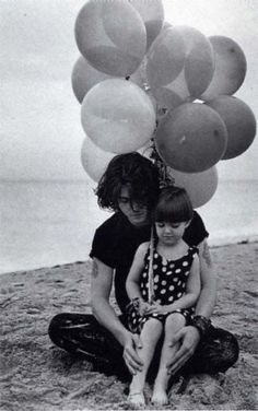 young Johnny Depp with niece