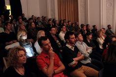The Audiance at TEDXWarsawSalon #4 @Brittney McGee #TED #TEDx  #coworking #serendipity #startup