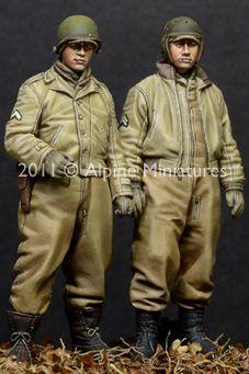 1:35  WW2 US AFV Crew Set (2 Figures) #Affiliate