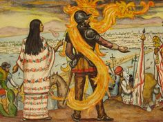 Malinalli (La Malinche) pertenecía a una familia noble, era hija del gobernante de la ciudad de Painala, cerca de Coatzacoalcos