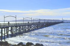 Even in February the pier is a great place to walk!