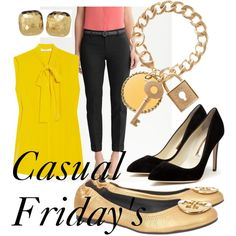 Casual Friday!, created by theadminpost on Polyvore