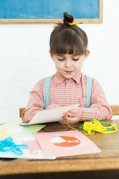 Teach your kids how to sew with Handmade Charlotte Lacing Card Kits from Pottery Barn Kids