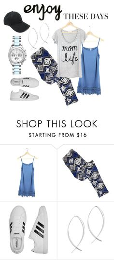 Enjoy These Days by maria-himes on Polyvore featuring adidas and momlife