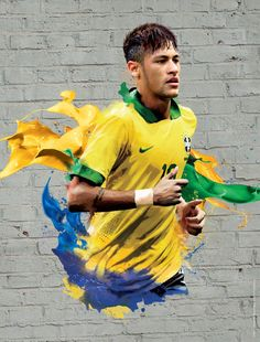 2014 FIFA World Cup Brazil Campaign-Players by Audrey YeeWE, via Behance