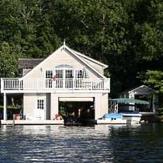 boathouse... with room to party up top!