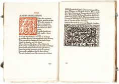KELMSCOTT PRESS. BLUNT, Wilfrid Scawen. The Love-Lyrics & Songs of Proteus, with the Love-Sonnets of Proteus #privatepress #romance