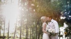 Lindsey + Brandon: On the River Bank Wedding Highlights, River Bank, Little Black Books, Wedding Videos, Romantic, Iris, Couple Photos, Film, Wedding Dresses