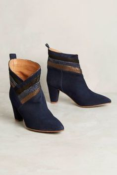 Emma Go Marcia Booties Navy 36 Euro Boots