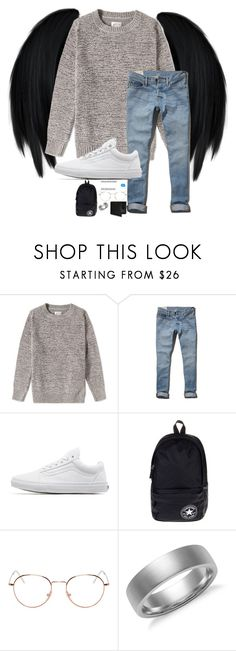 """""""Untitled #191"""" by beastgirl-275 ❤ liked on Polyvore featuring Gant Rugger, Abercrombie & Fitch, Vans, xO Design, Converse, RetroSuperFuture, Blue Nile and Perry Ellis"""