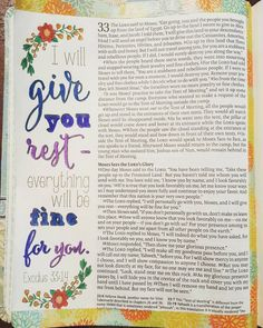 A little meditation on God's rest and assurance xo #inspirebible #biblejournaling #biblejournalingcommunity #BibleArt #biblejournal #bibleJounaling #illustratedfaith by bonster1977