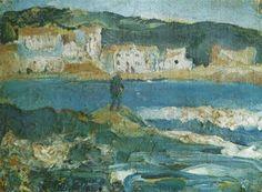 Landscape, 1920 Salvador Dali