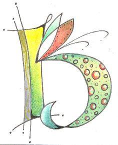 "Letter b.              ""Class 4 - Kersal Monograms"""