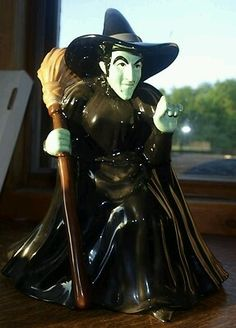 Wizard of OZ Wicked Witch of the West Cookie Jar
