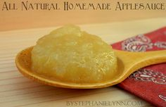 All Natural Homemade Applesauce Recipe: How to Make Stovetop Applesauce - bystephanielynn