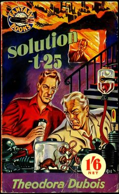 scificovers: Solution T-25by Theodora Dubois 1953. Cover art by Ron Embleton.