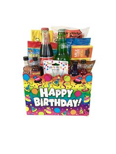 The gluten free gourmet snacks gift basket is available for same day happy birthday gift box negle Choice Image