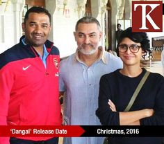 Its confirmed! Aamir Khan's next venture #Dangal will release on the Christmas weekend of 2016! According to reports, he has put on 22 kilos for the film!   Hit like if you are excited to watch 'The Perfectionist' in his new avatar?