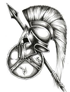 The next tattoo, minus the spear and shield