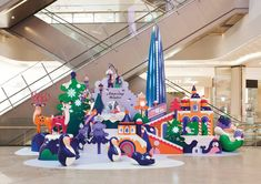Key visual, installation and window displays for Lotte World Mall Amazing Winter campaign. Creative direction by TIST . Parc A Theme, Hotels For Kids, Lotte World, Photo Zone, Centre Commercial, Commercial Design, Candy Christmas Decorations, Exhibition Display, Display Design