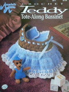 Annie's Attic Crochet Teddy ToteAlong by CarolsCreations77 on Etsy, $4.95