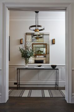 Chelsea Townhouse transitional-hall