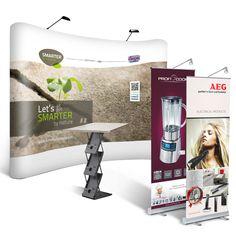 Full Package deal 1 - Voordelige Alles-in-1 beurspakket voor € 1199! Een pakket met Beurswand, 2 banners, balie/brochurehouder en meer! Bekijk hier: www.expofit.nl/full-package-deals