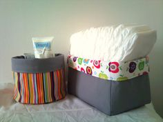 Coordinating salves and diaper holders for fabric (un)papertowels?