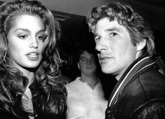 Cindy Crawford and Richard Gere, 1988