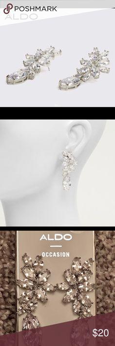 Bridal earrings Beautiful occasion earrings..NWT. Never worn Aldo Jewelry Earrings