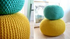 DIY - Squishy Poufs