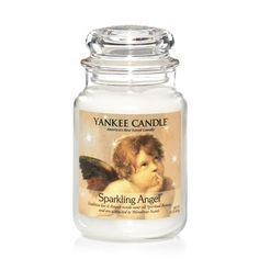 Sparkling Angel™: Yankee Candle:  The uplifting scent of apples, pine, berries and eucalyptus with a touch of sparkling winter woods.