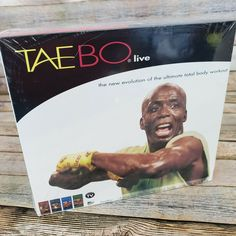 Taebo Live Billy Blanks 4 VHS Tapes Instructional To Advanced Workout Fitness Tae Bo Workout, 8 Minute Workout, Basic Workout, Workout Fitness, Movies 14, Cult Movies, Enter The Dragon, Prime Time, Vhs Tapes