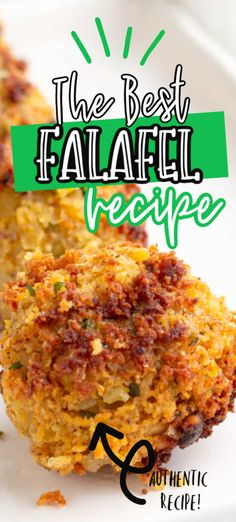 Homemade easy to make authentic falafel recipe, made with chickpeas, fresh herbs and spices is the best falafel recipe you have ever made right at home! Lunch Recipes, Appetizer Recipes, Cooking Recipes, Healthy Recipes, Appetizers, Easy Recipes, Authentic Falafel Recipe, Best Falafel Recipe, Healthy Meals For Two