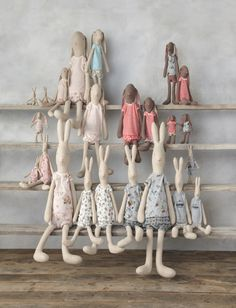 With the new collection of bunnies and rabbits now arriving in their oh so beautiful underwear there's a whole new range of cl...