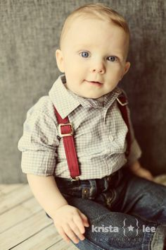 Cute baby pageboy