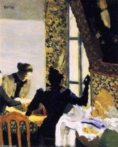 Le Stich - (Edouard Vuillard)