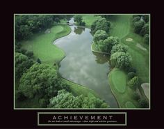 Achievement Golf Course Art Print