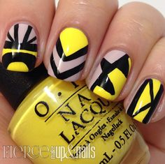 The Digit-al Dozen does Brands: OPI Brazil Tribal Mani - Fierce Makeup and Nails
