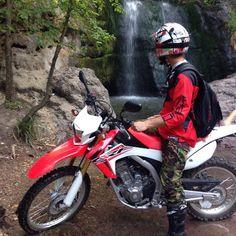 Honda CRF 250L Waterfall