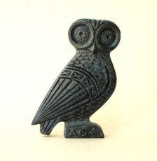 - Owl Sculpture -